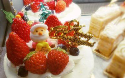 クリスマスケーキのお渡し開始